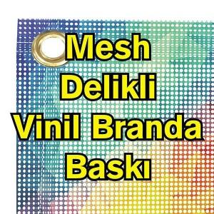 Mesh Delikli Branda Afiş Dijital Baskı