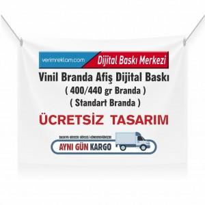 Vinil Branda Afiş Dijital Baskı ( 400/440 gr )