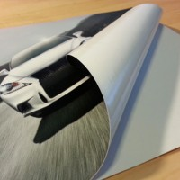 Yapışkanlı Folyo Dijital Baskı - (50x35 cm)