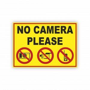 İş Güvenliği Levhaları - No Camera Please Levhası ( 35x25 )                                                         iş güvenliği levhası,                                 uyarı levhası,                                 isg levhası,                                 ikaz levhası,                                 tabela,                                 levha,                                 dekota sıvama,                                 folyo sıvama,                                 baskılı levha,                                 forex sıvama,                                 foreks baskı,                                dekota baskı