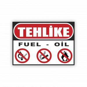 İş Güvenliği Levhaları - Tehlike Fuel - Oil Levhası ( 50x35 )                                                         iş güvenliği levhası,                                 uyarı levhası,                                 isg levhası,                                 ikaz levhası,                                 tabela,                                 levha,                                 dekota sıvama,                                 folyo sıvama,                                 baskılı levha,                                 forex sıvama,                                 foreks baskı,                                dekota baskı