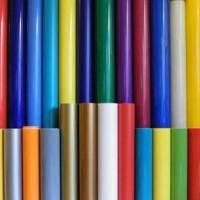 Folyo Kesim 55x55 cm Tek Renk Yazı