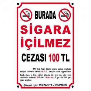 Sigara İçilmez Levhası                                                         Uyarı,                                 sigara,                                 içilmez,                                 yasak,                                 levha,                                dikkat