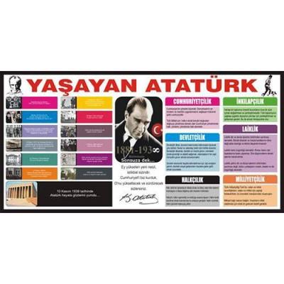 Atatürk Köşesi ( Yaşayan Atatürk )                                                         Atatürk,                                 istiklal,                                 marş,                                 Gençliğe,                                 hitabe,                                 dekota,                                 folyo,                                 Atatürk köşesi,                                 ilke,                                 devrim,                                 inkilap,                                 devletçilik,                                 milliyetçilik,                                halkçılık