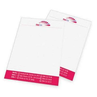 Antetli Kağıt (2000 Adet)                                                         matbaa,                                 antetli kâğıt,                                 kartvizit,                                 broşür,                                 el ilanı,                                 ajans,                                 reklam,                                tasarım