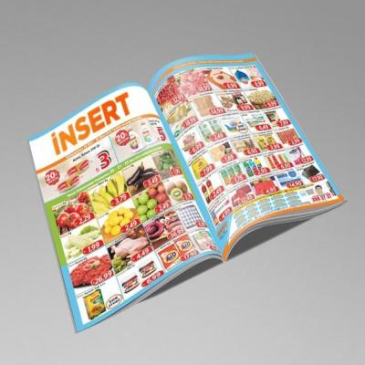 İnsert ( A5 - 32 Sayfa - 90 gr Mat Kuşe ) (1000 Adet)                                                         matbaa,                                 katalog,                                 kartvizit,                                 broşür,                                 el ilanı,                                 magnet,                                 katalog,                                 dergi,                                 insort,                                afiş