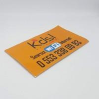 Yapışkanlı Kartvizit 5.2 × 8.4 cm (1000 Adet) (Özel Kesim)                                                          Matbaa,                                 kartvizit,                                 etiket,                                 broşür,                                el ilanı