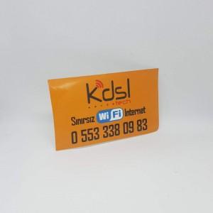 Çıkartma Etiket 5.2 × 8.4 cm (1000 Adet)
