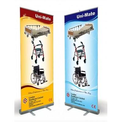 Roll Up Banner ( 100x200 cm )                                                         Roll up,                                 rollup,                                 banner,                                 Stand,                                 ürün,                                 tattırma,                                 tattirim,                                 plastik stand,                                 reklam stand,                                 fuar stand,