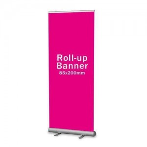Roll Up Banner ( 85x200 cm )