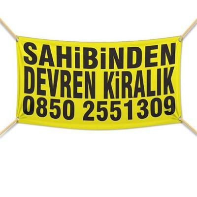 Devren Kiralık Afişi ( 200x150 cm )                                                         sahibinden,                                 satılık,                                 kiralık,                                 afiş,                                 pankart,                                devren
