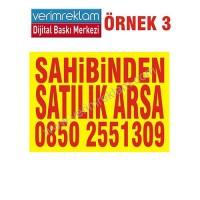 Sahibinden Satılık Arsa Afişi ( 200x150 cm )                                                          sahibinden,                                 satılık,                                 kiralık,                                 afiş,                                 pankart,                                levha