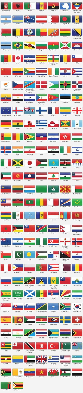 yabancı ülke bayrakları